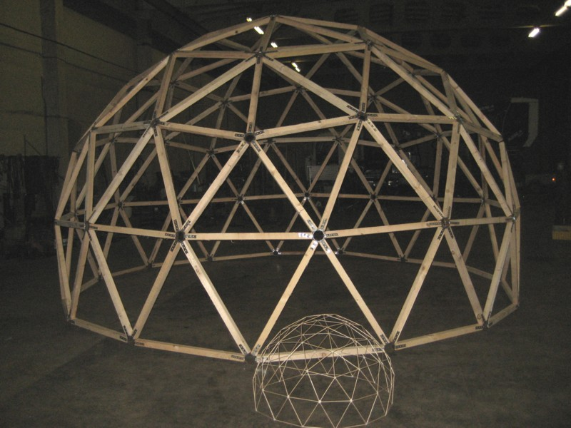 Green Cheap And Efficient Straw Bale Dome Homes